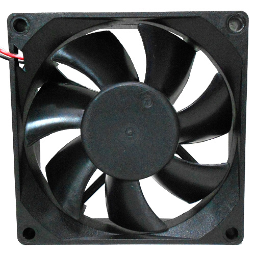Xinruilian RDL8025S - Square Fan DC 12V 0.08A, 80 x 80 x 25mm